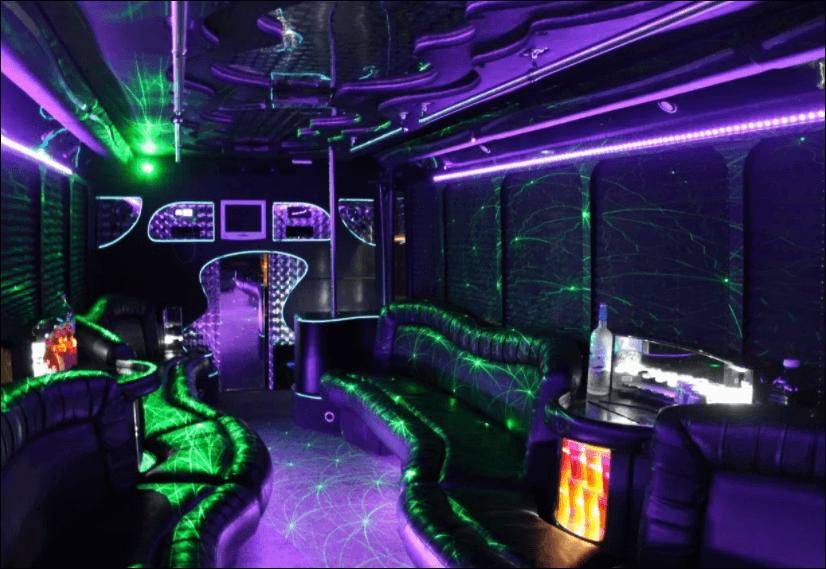 36 Passenger Party Bus United Coachways 36 Passenger
