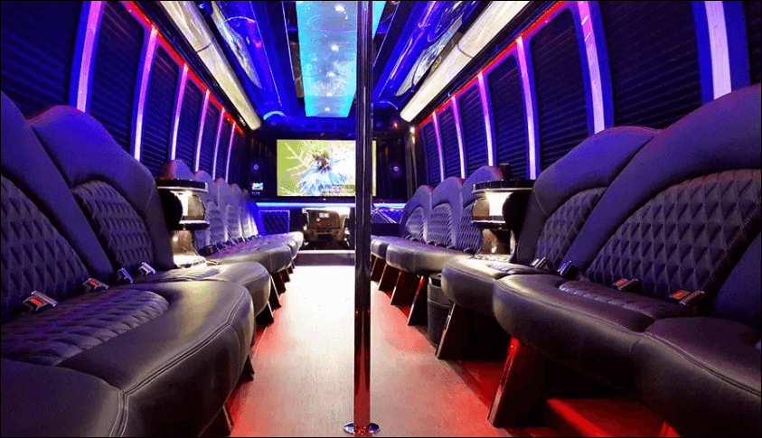 45 Passenger Party Bus United Coachways