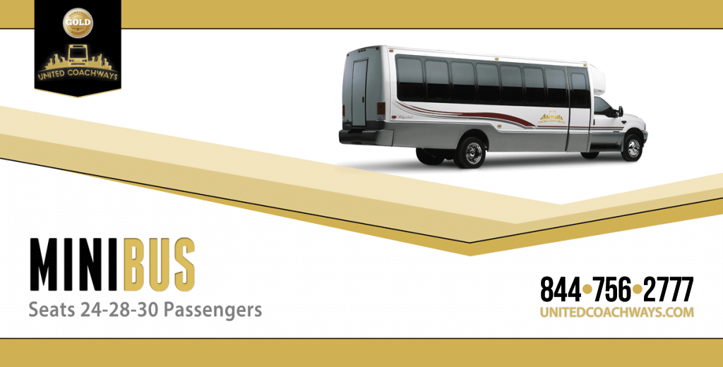 30 Passenger Executive Mini Coach - Get A FREE Quote Today!