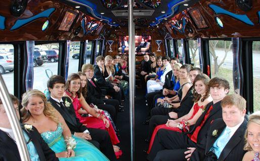 Prom Party Bus League City, Texas