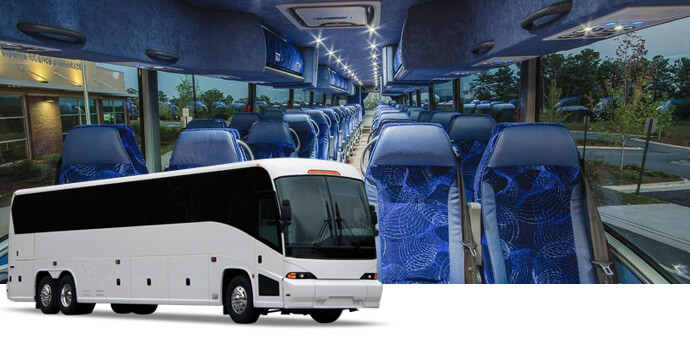 Rent a Charter Bus to California Construction Expo - Calcon Expo Expo Charter Bus